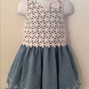Nanette Baby dress. Size 24M.